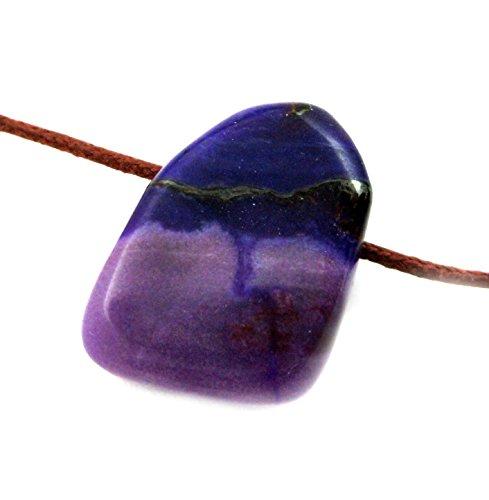 trommelstein gebohrt sugilith 2 25 cm - Trommelstein gebohrt Sugilith 2-2,5 cm