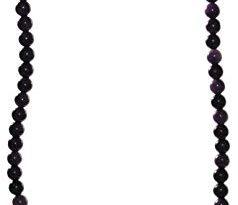 budawi® Sugilith Kette Halskette Perlen mit 925er Silberverschluss Sugilithkette 238x205 - budawi® - Sugilith Kette Halskette Perlen mit 925er Silberverschluss, Sugilithkette 45 cm