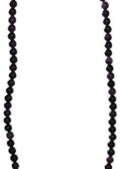 budawi® Sugilith Kette Halskette Perlen mit 925er Silberverschluss Sugilithkette 238x330 - budawi® - Sugilith Kette Halskette Perlen mit 925er Silberverschluss, Sugilithkette 45 cm